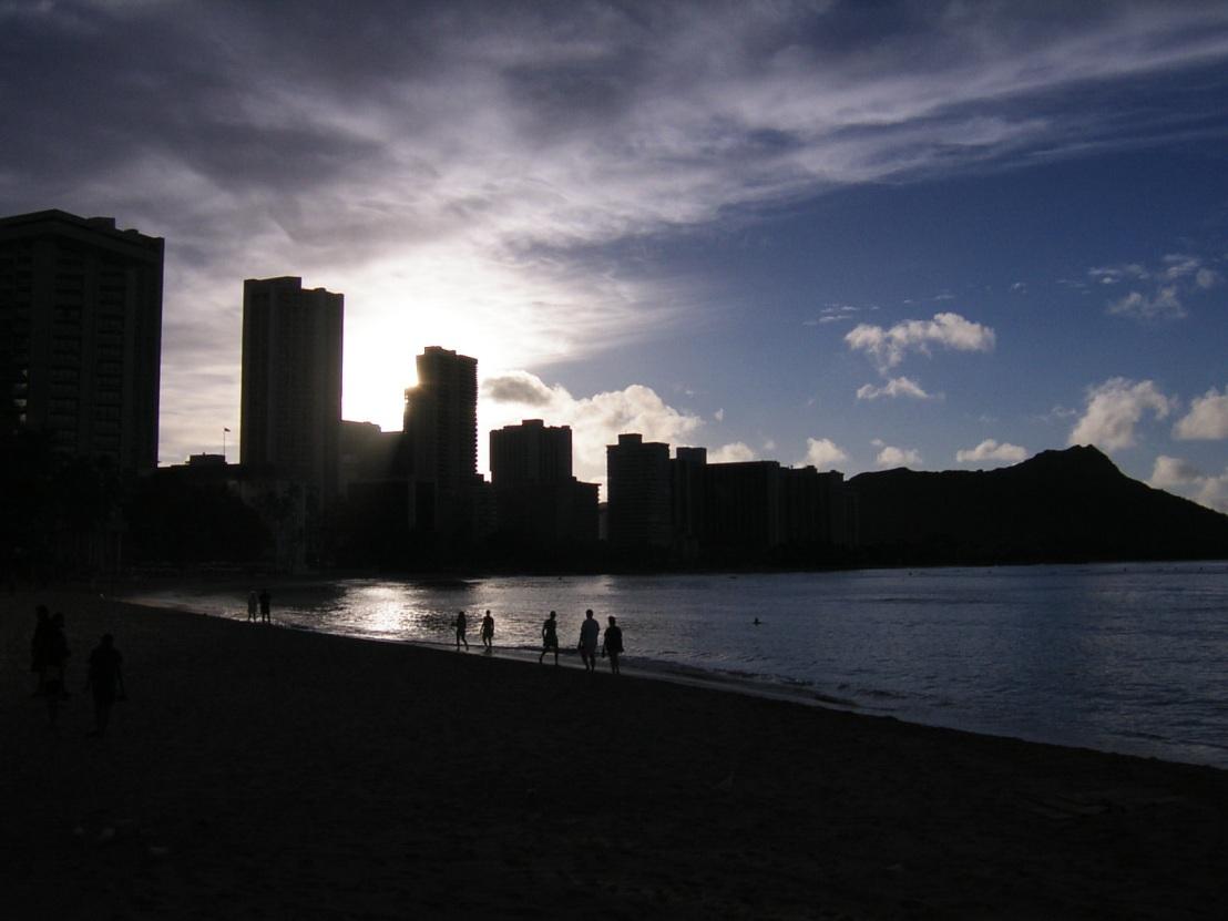 2002年10月 ハワイ